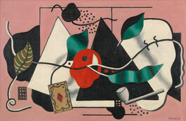 Fernand Léger: Playing Card and Pipe