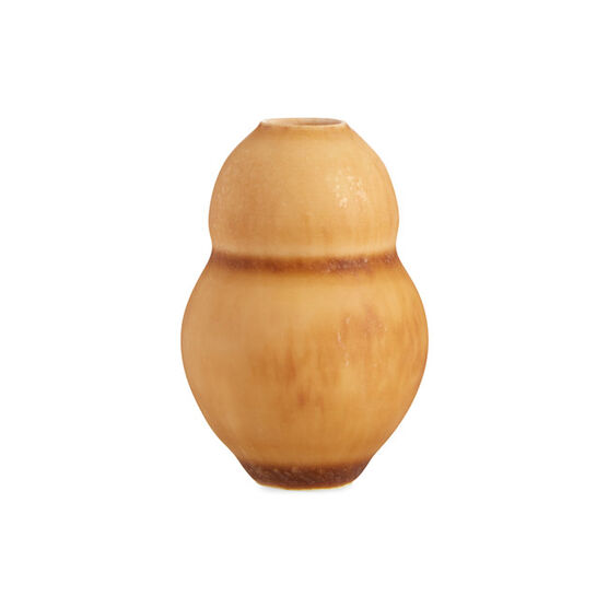 Tiny vase - small ochre