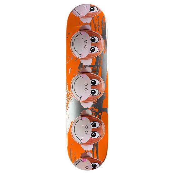 Koons: Monkey Train Orange skateboard