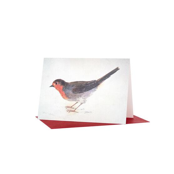 Tate Christmas card JMW Turner Robin (Pack of 10)