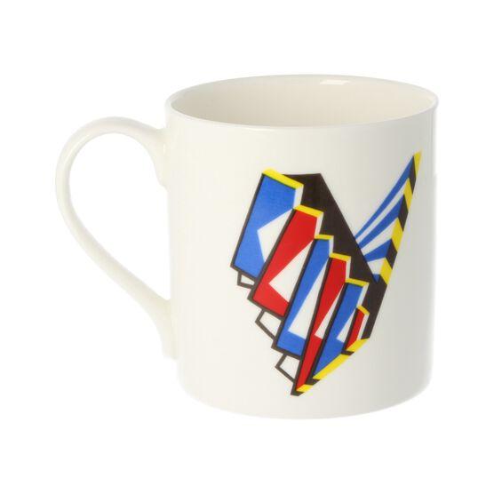 Alphabet of art mug - V