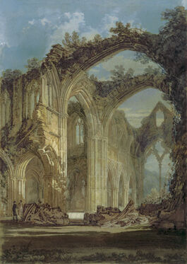 Turner: The Chancel & Crossing of Tintern Abbey