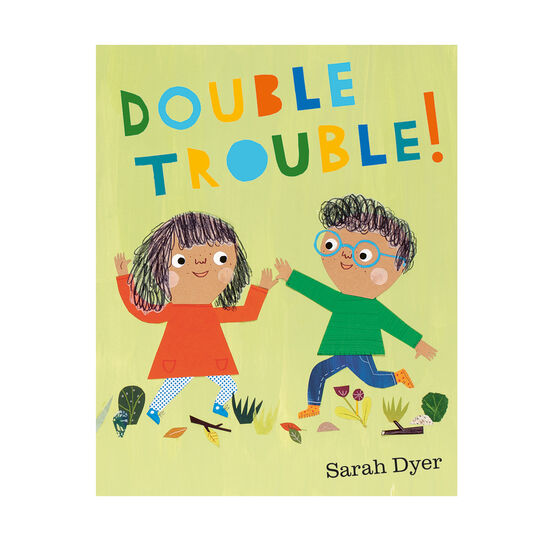 Signed copy of Double Trouble