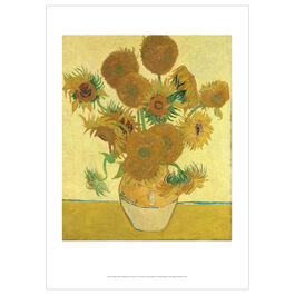 Vincent van Gogh: Sunflowers poster
