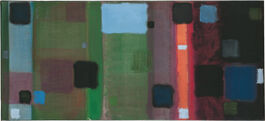 Patrick Heron: Horizontal Painting with Soft Black Squares