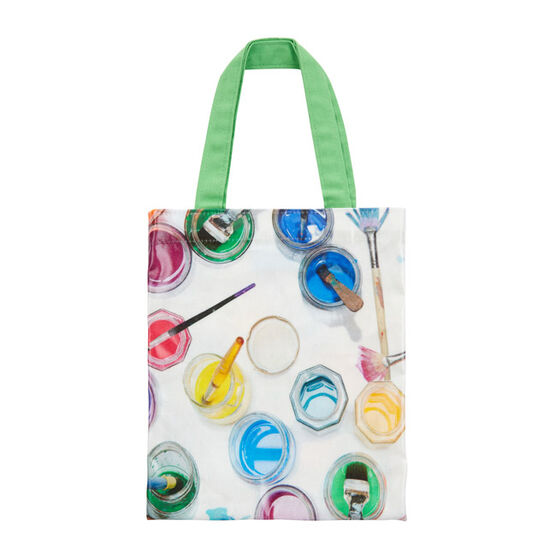 Ella Doran paint pots mini tote bag