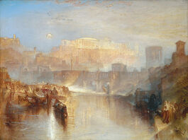 Turner: Ancient Rome; Agrippina Landing with the Ashes of Germanicus