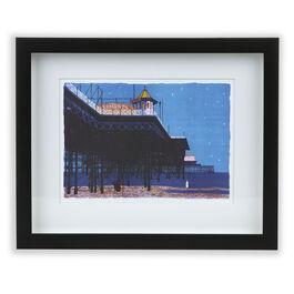 Brett Brighton Pier (framed print)