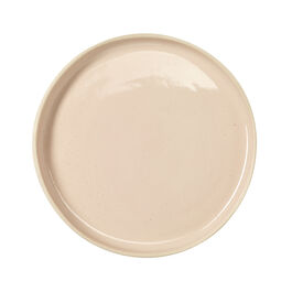 Dusty pink ceramic plate