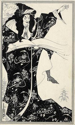 Aubrey Beardsley: Virgilius the Sorcerer