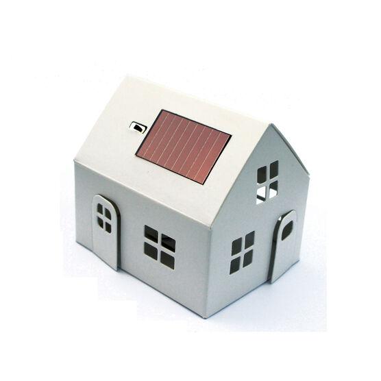 Casagami white solar panel house