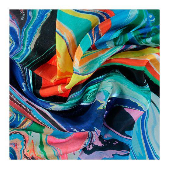 Ian Davenport Giardini Colourfall silk scarf