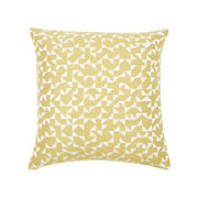 Anni Albers yellow Intaglio cushion cover