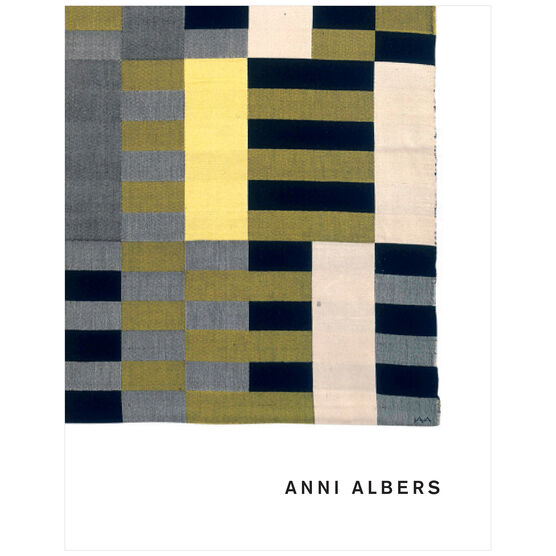 Anni Albers exhibition book (paperback)
