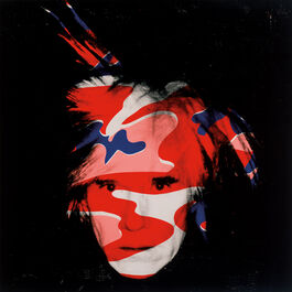 Andy Warhol: Self Portrait (red, white & blue camo)
