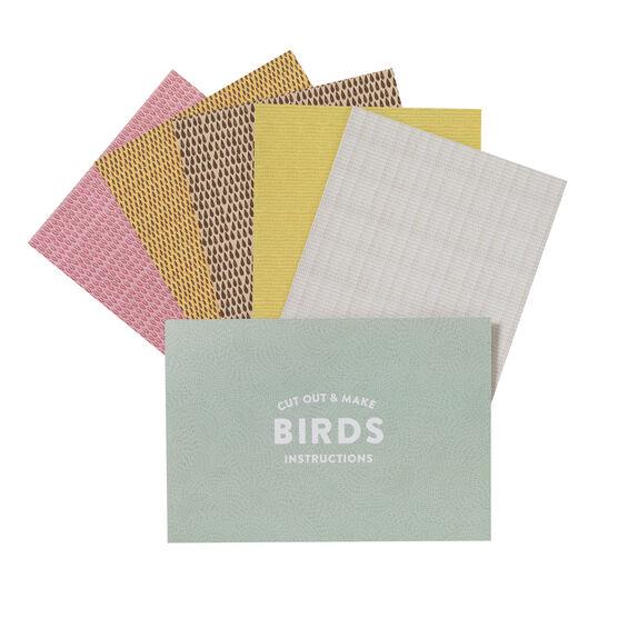 Cut out & make British birds kit