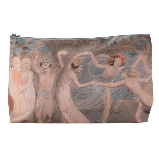 William Blake Fairies Dancing wash bag