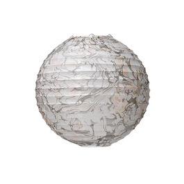 Marbled medium paper lampshade
