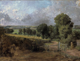 John Constable: Fenn Lane, East Bergholt