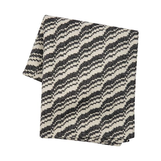 Beatrice Larkin monochrome blanket