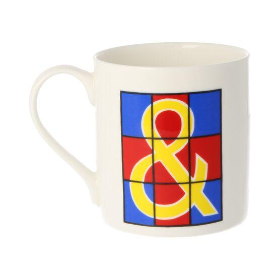 Alphabet of art mug - &
