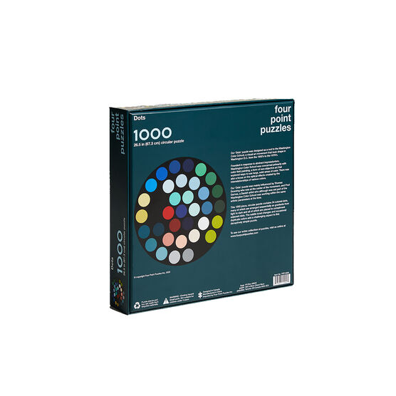 Dots 1000 piece jigsaw puzzle