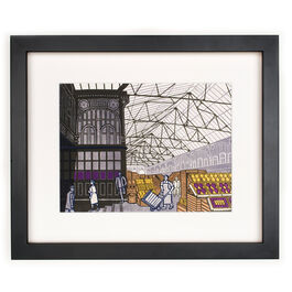 Bawden Covent Garden Fruit Market (framed print)