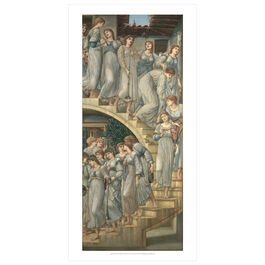 Edward Burne-Jones: The Golden Stairs poster