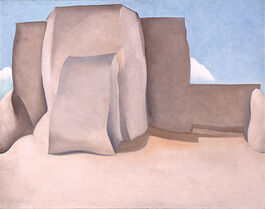 Georgia O'Keeffe: Ranchos Church No.I