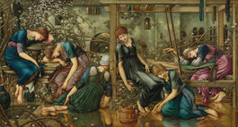 Edward Burne-Jones: The Garden Court