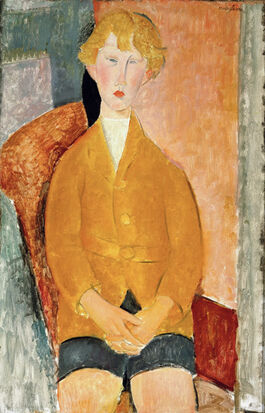 Modigliani: Boy in Short Pants