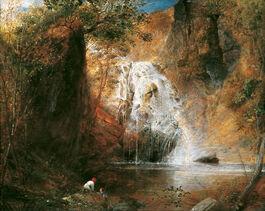 Samuel Palmer: The Waterfalls, Pistil Mawddach