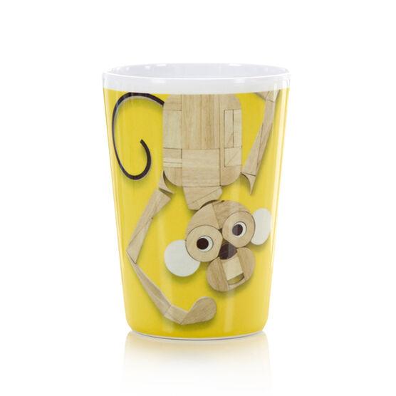 Monkey plastic cup