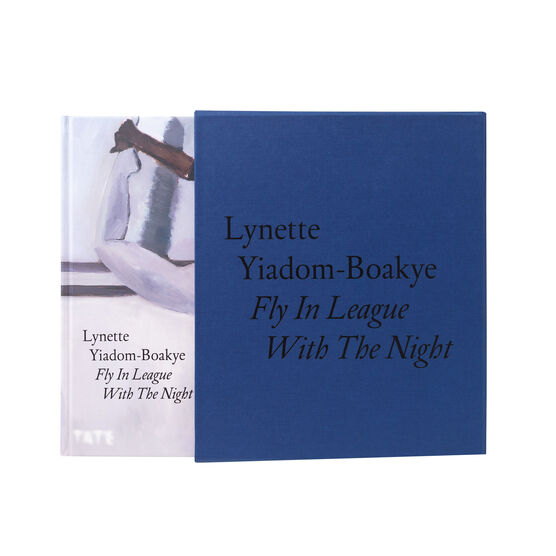Lynette Yiadom-Boakye: Fly In League With The Night signed special edition exhibition book