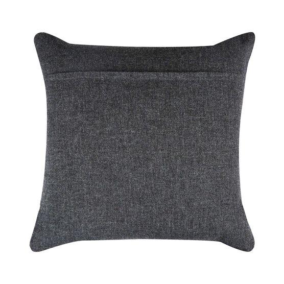 Eleanor Pritchard navy block cushion