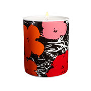 Andy Warhol Flowers scented candle