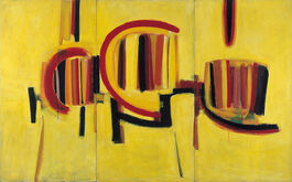 Sir Terry Frost: Yellow Triptych