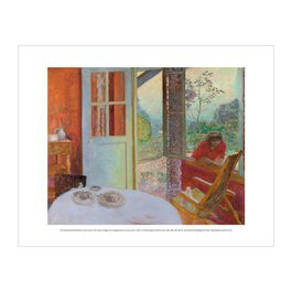 Pierre Bonnard: Dining Room in the Country mini print