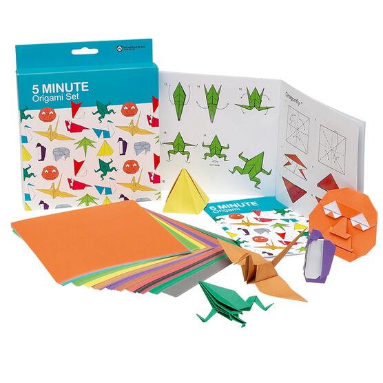 5 minute origami set