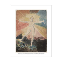William Blake Albion Rose mini print