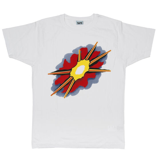 Explosion white t-shirt
