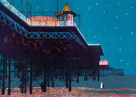Bernard Brett: The Palace Pier, Brighton