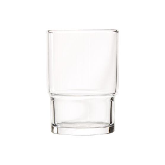 Toyo-Sasaki stackable 250ml glass tumblers