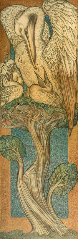 Edward Burne-Jones: The Pelican in her Piety