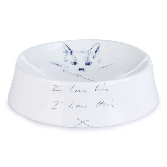 Tracey Emin Dockett Cat Bowl