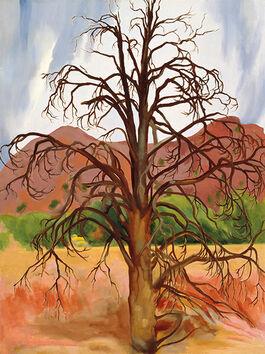 O'Keeffe: Dead Pinon Tree