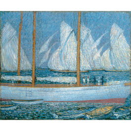 Steer: A Procession of Yachts