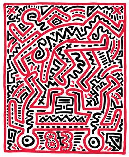 Keith Haring: Keith Haring at Fun Gallery