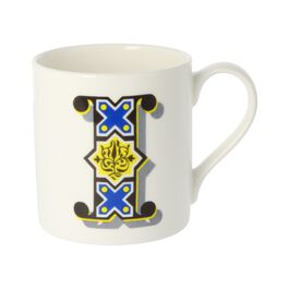 Alphabet of art mug - I