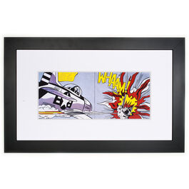 Lichtenstein Whaam! (framed print)